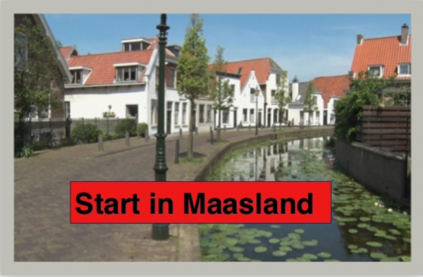 Midden Delfland Halve Start/Finish in Maasland!