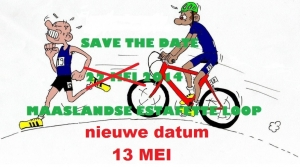 Update Save The Date 13 mei 2014 Maaslandse Estafette Loop