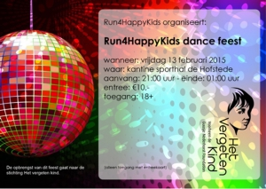 Run4HappyKids dance feest